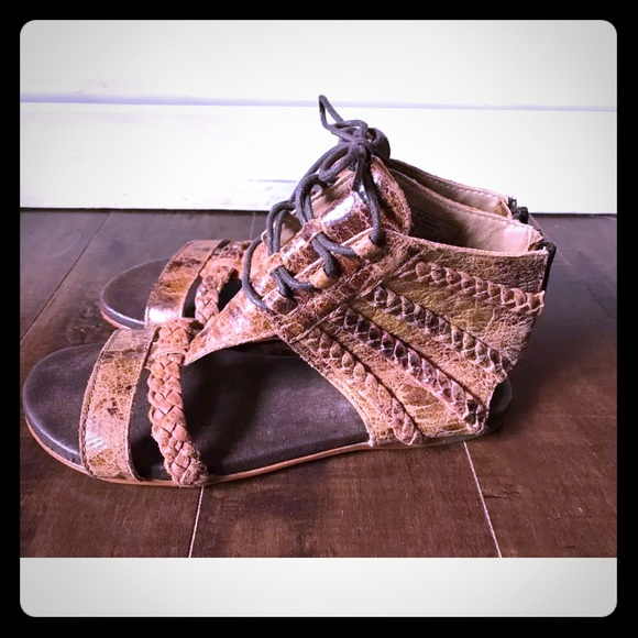 "5aff74c384e Bed Stu Shoes - ""Poppy"" leather gladiator like sandals"